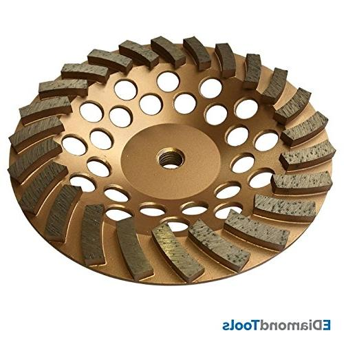 "Grinding Wheels Concrete and Masonry Available 4 - 7"" Arbor"
