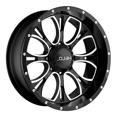 he879 gloss black wheel with machined