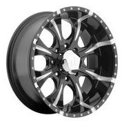 Helo HE901 20x9 Black Wheel / Rim 6x135 with a 18mm Offset a