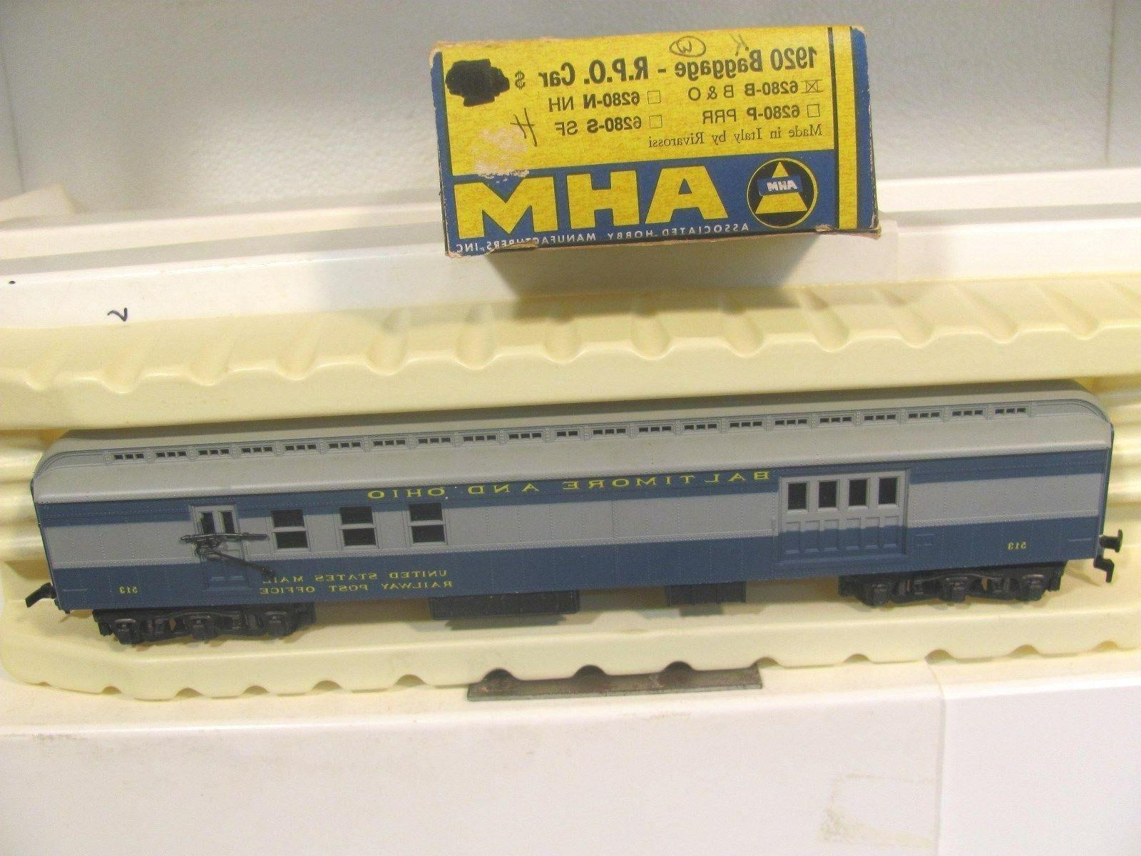 Athearn Baltimore And Ohio Shark Nose Passenger Car Set Manual Guide