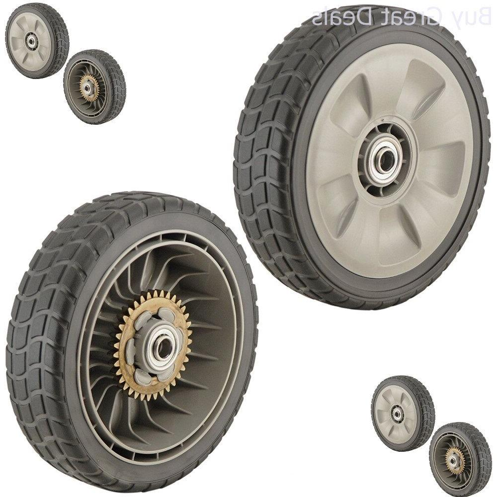 Lawn Mower Rear Wheel 8 Inch Set Of 2 Lawnmovers Parts Honda