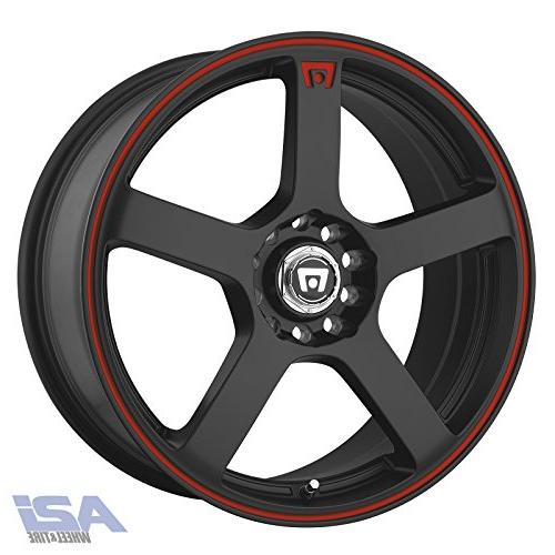 mr116 matte black wheel