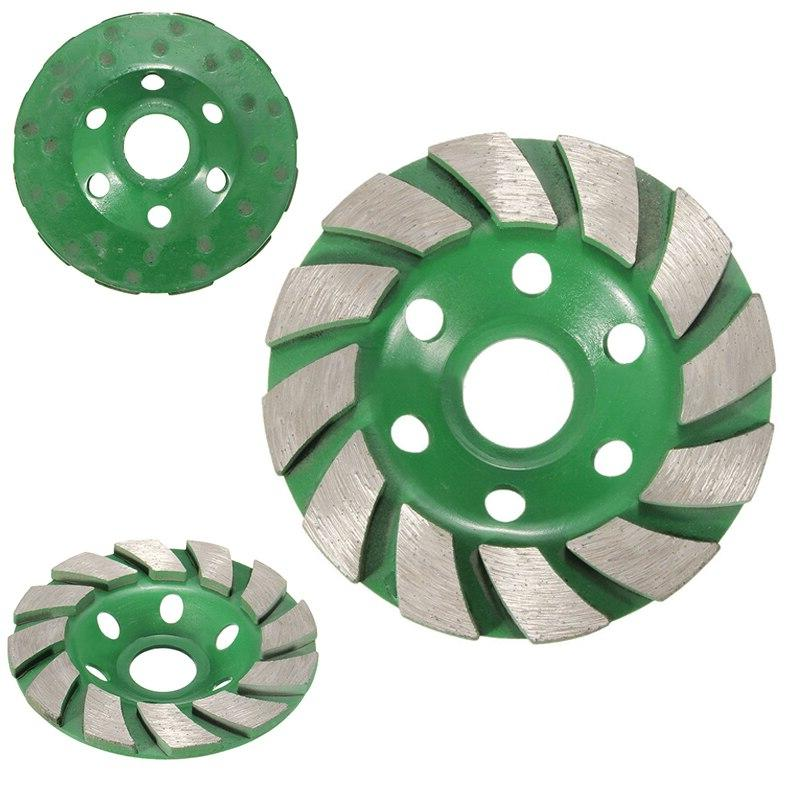 "New 4"" Diamond <font><b>Grinding</b></font> <font><b>Wheel</b></font> Disc Shape Granite Stone Ceramics"