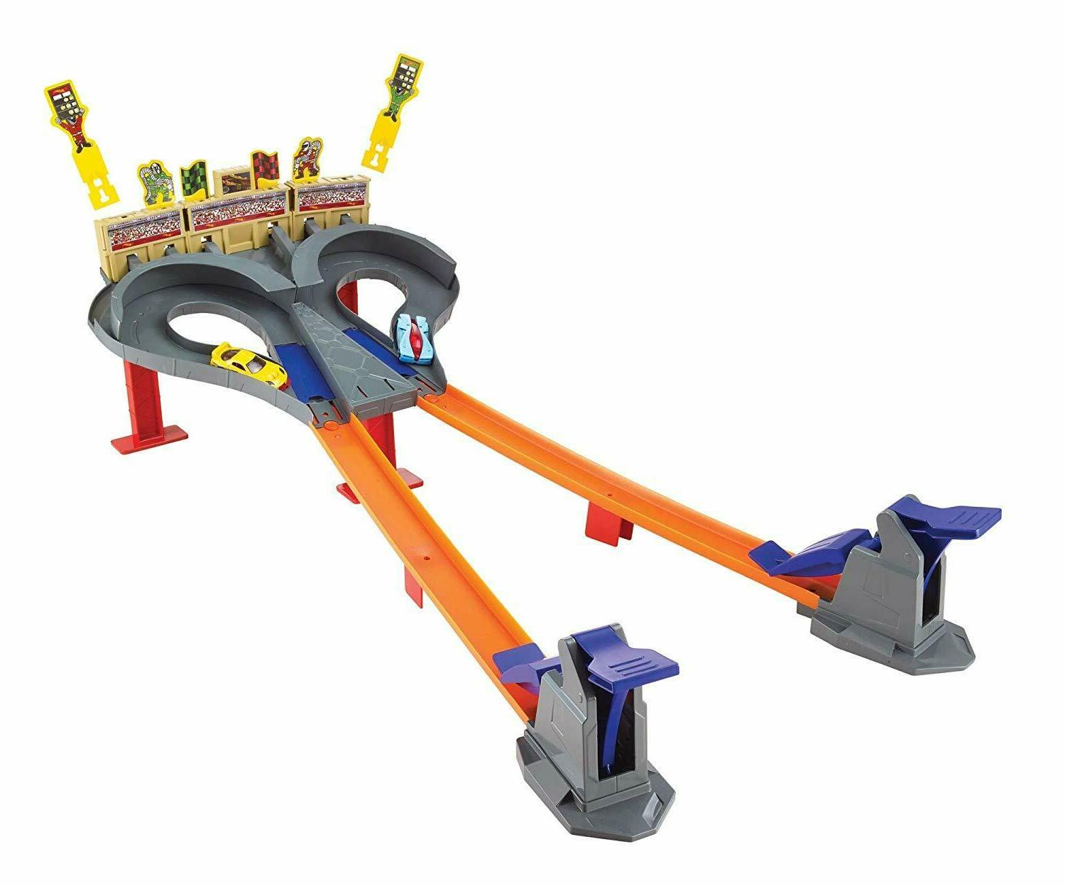 NEW Multiplayer Hot Wheels Cars Track Gift