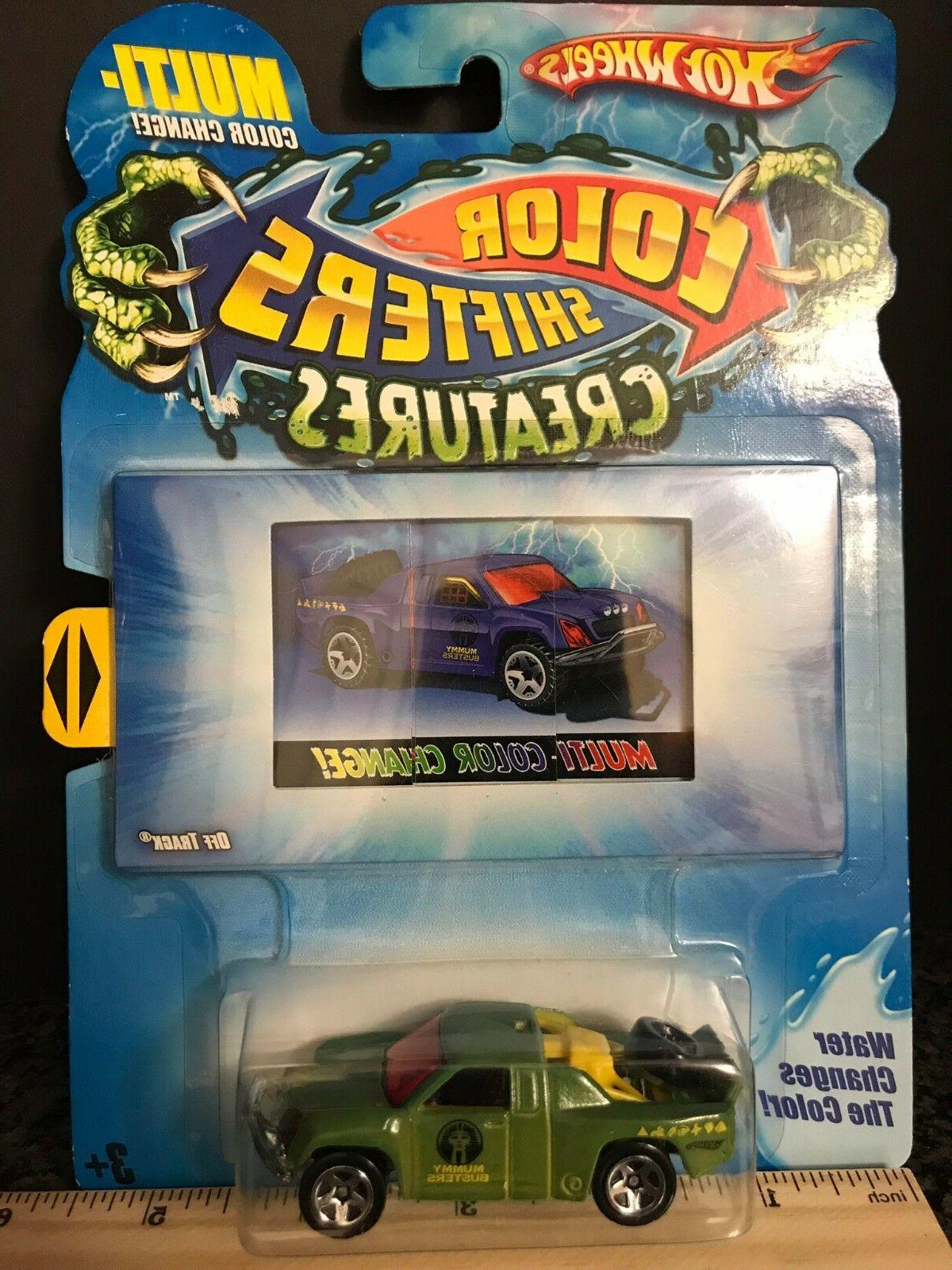 off track hot wheels color shifters creatures