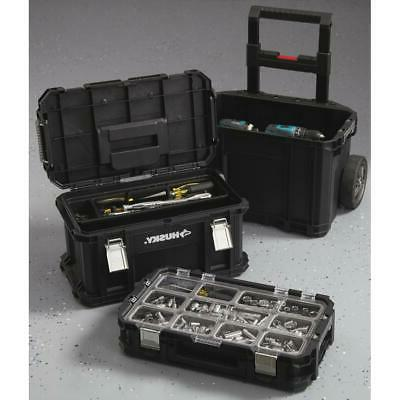 plastic 22 connect rolling tool box 100