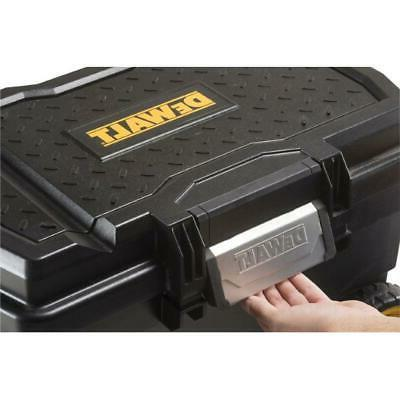 Portable Rolling Tool Contractor Chest Plastic 3-Position