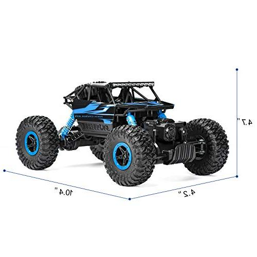 Geacool RC 2.4GHz 4WD Remote Vehicle Crawler Electric Race Monster RC Toys Adults