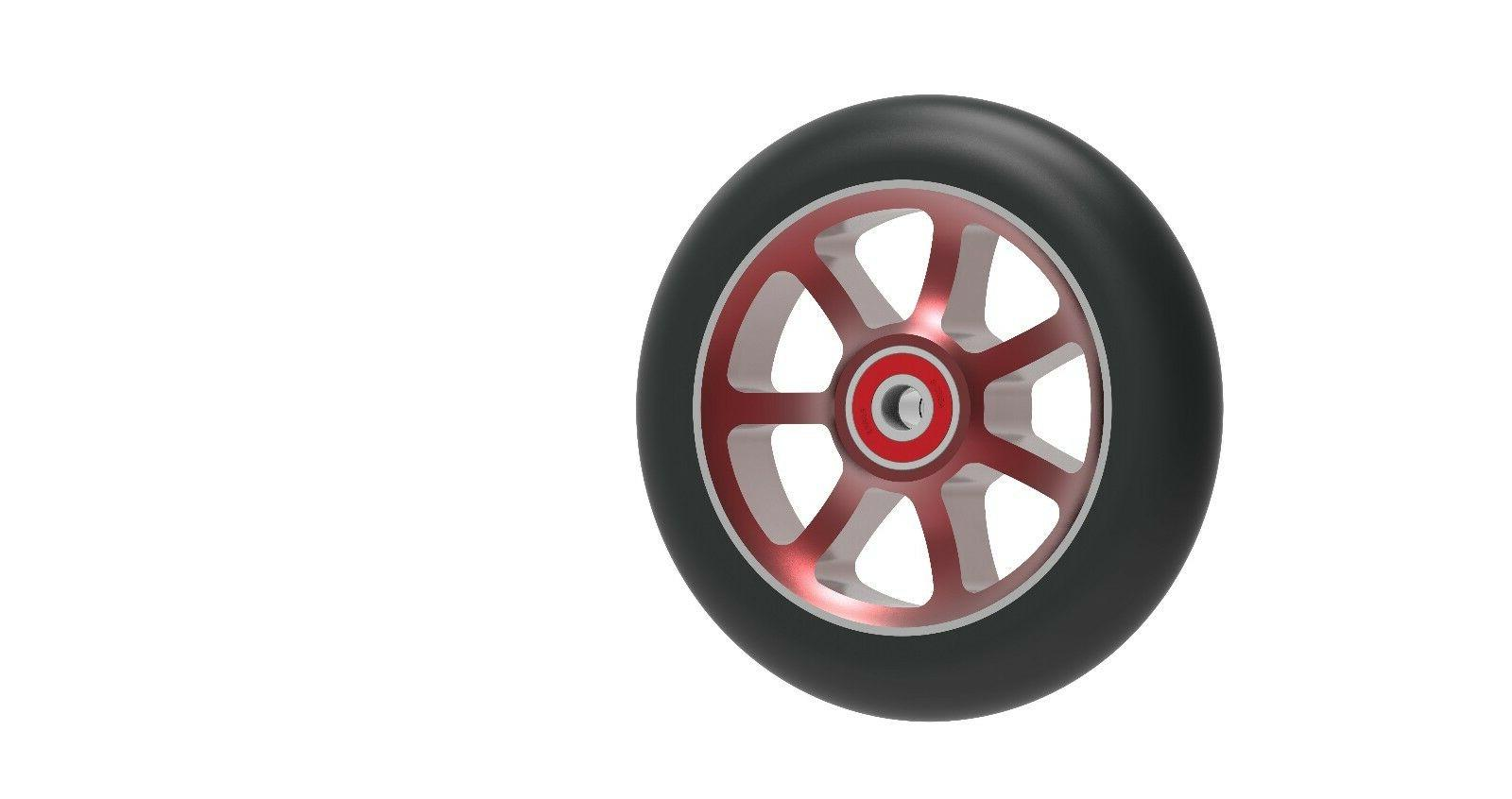 Revolution Spoke Aluminum Pro Scooter Wheels Pair