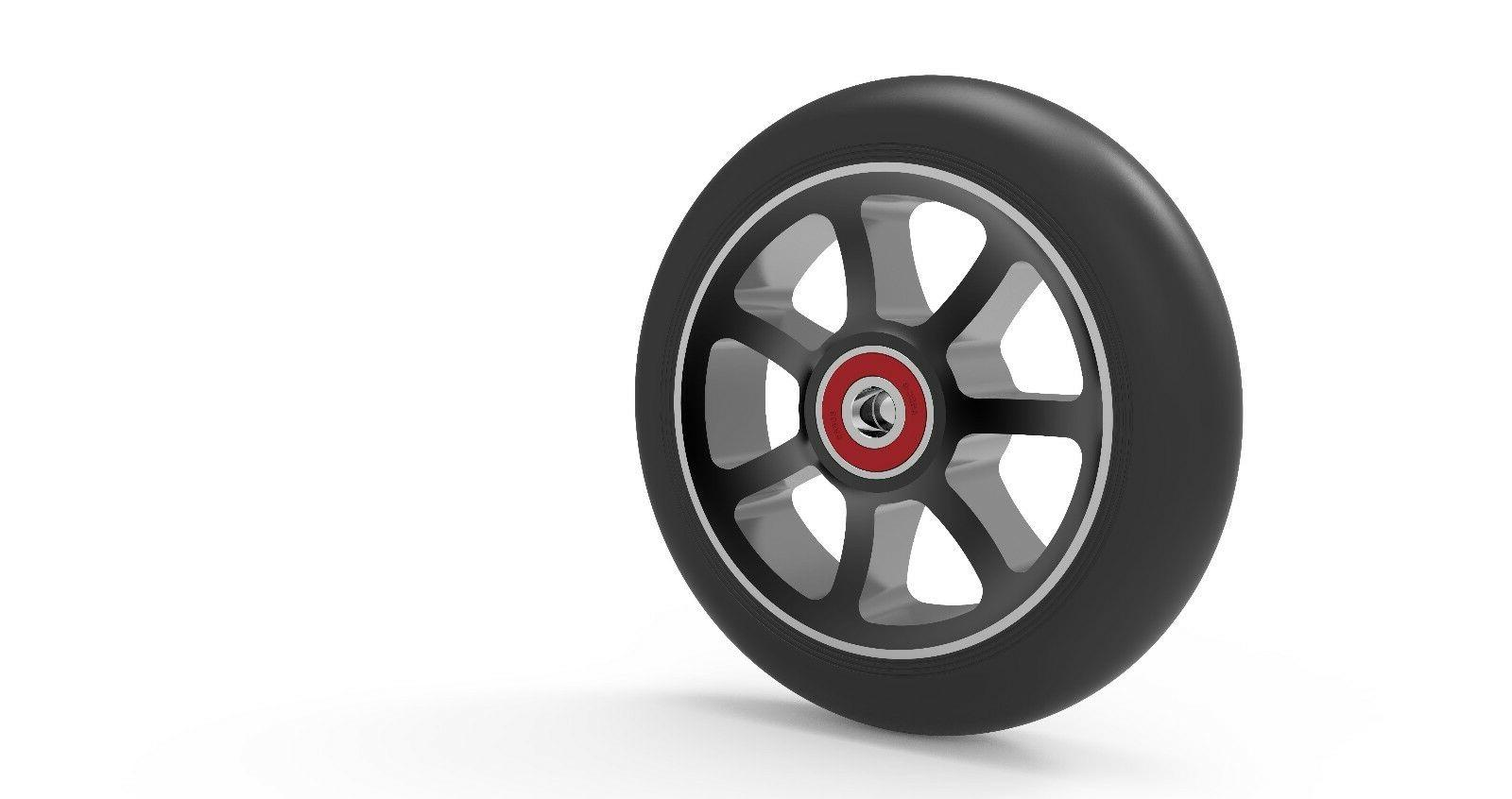 Revolution Aluminum Pro Scooter Replacement Wheels   Sold Pair