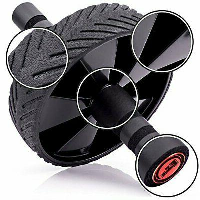Roller Wheel Equipment Machine Home Abs Workout Black Of