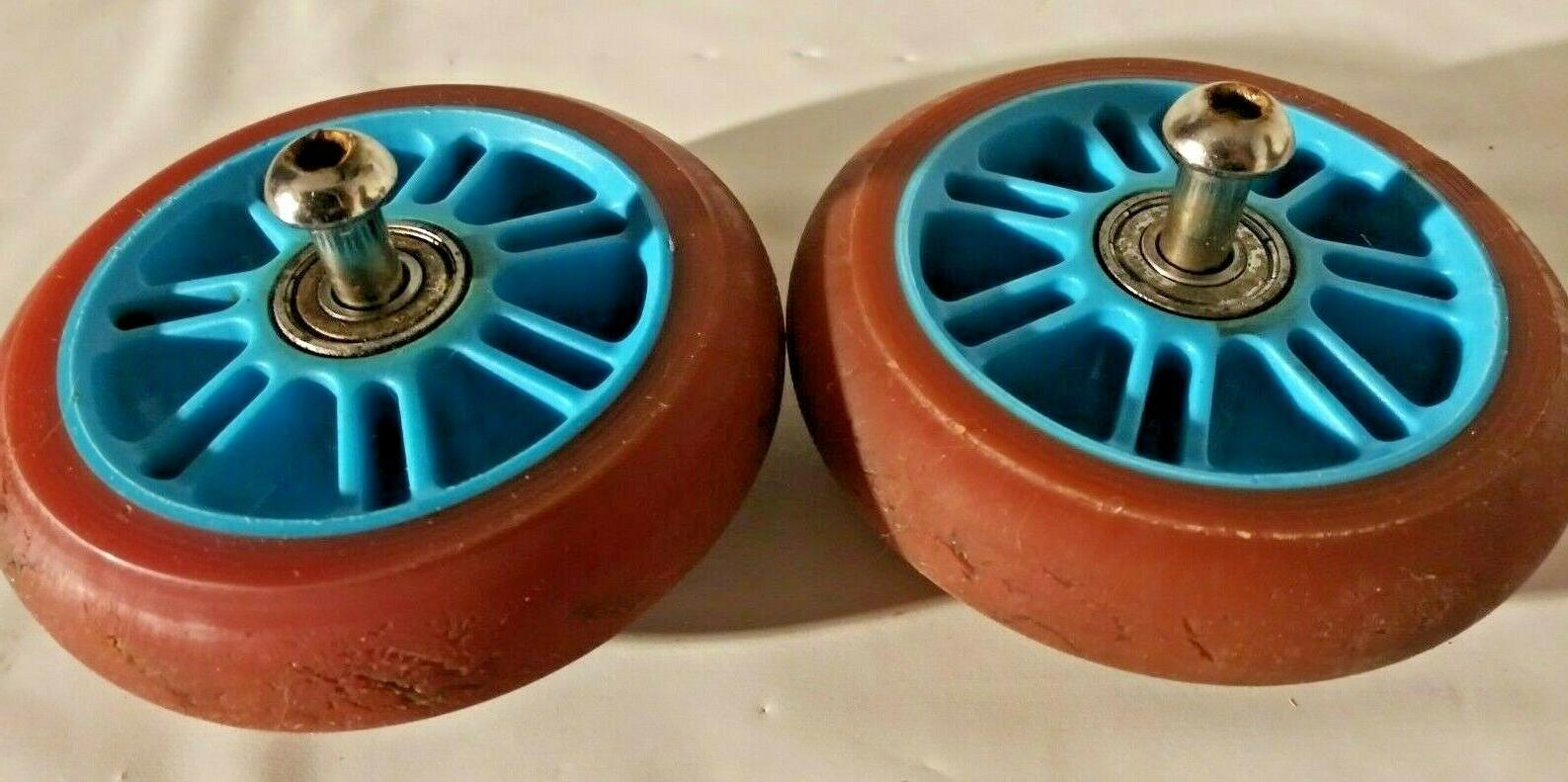 scooter replacement wheels set with bearings