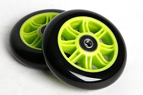 FREEDARE Scooter Wheels for Replacement with Bearings