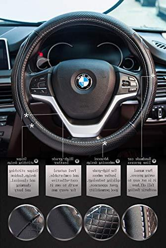 Steering Wheel Covers with Genuine Universal inch for