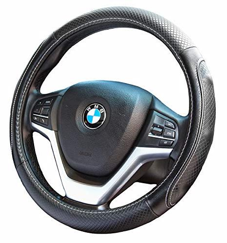steering wheel covers with genuine leather universal