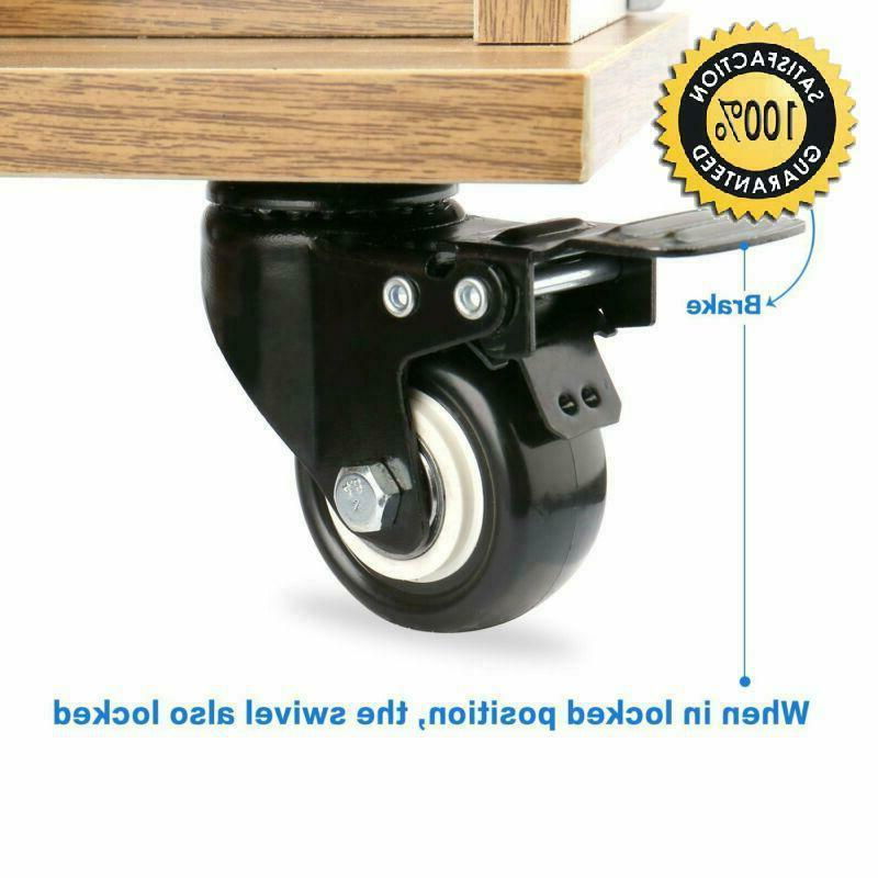Swivel Caster With Safety Polyurethane Foam