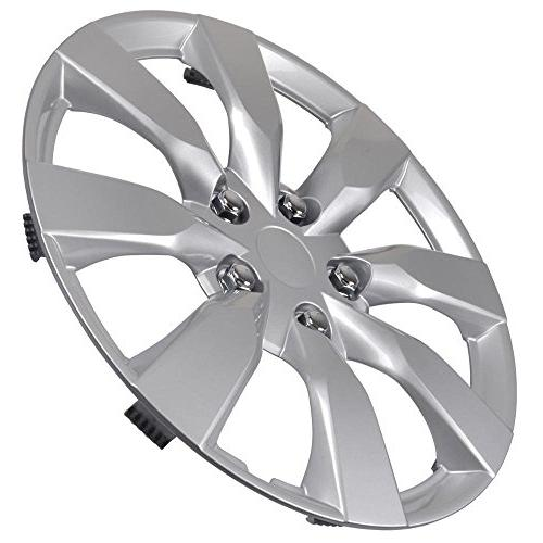 """BDK Toyota Corolla Hubcaps 16"""" Wheel Covers - 2014 Cover,"""