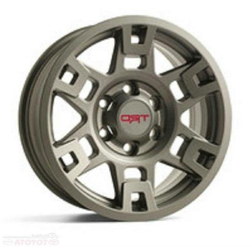 toytoa tms trd metal gray 17 in