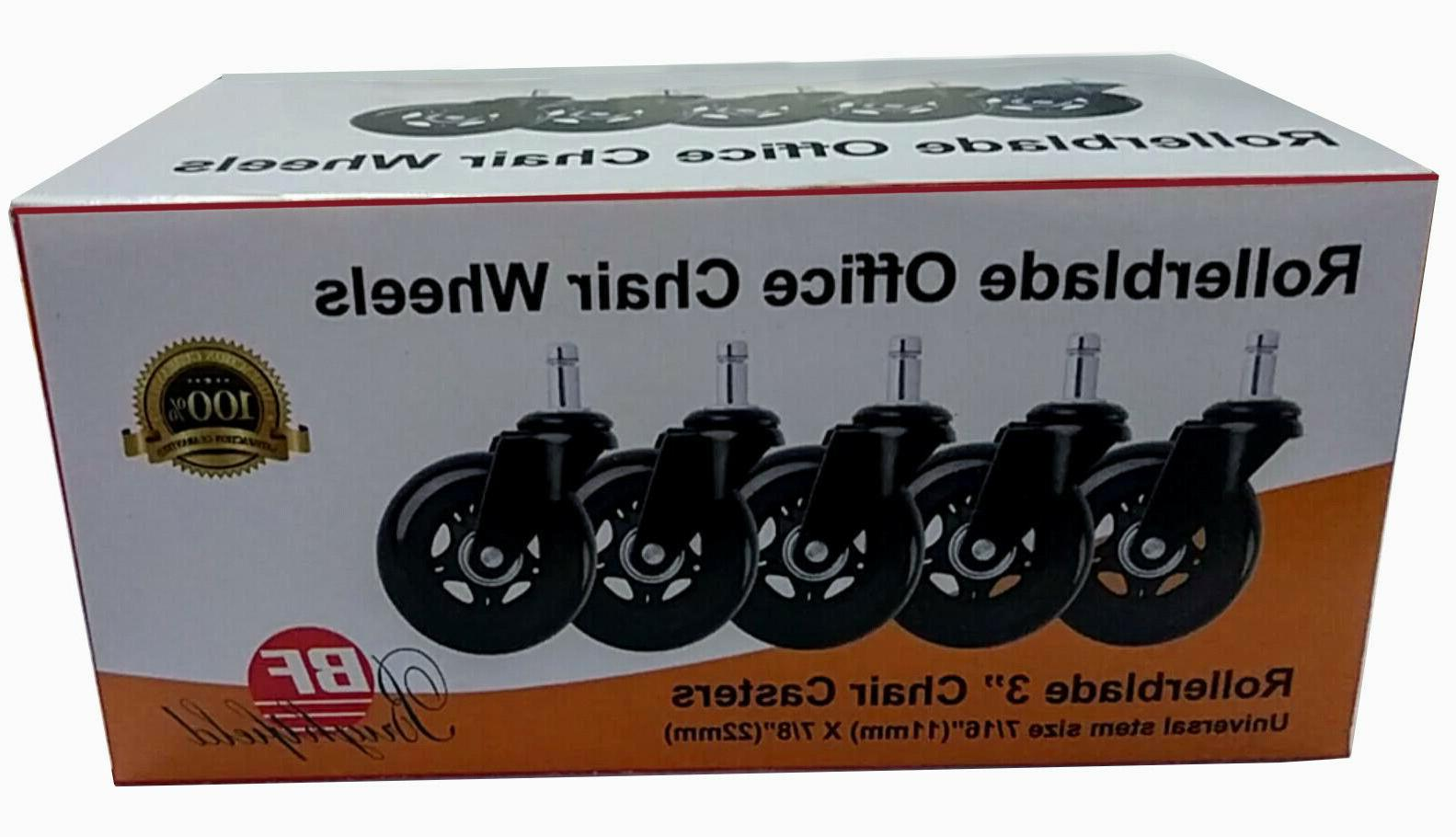 "Universal Office Wheels Heavy & Safe 3"" Rollerblade"