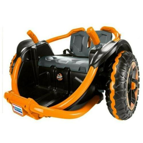 POWER WHEELS Wild 360 Vehicle, Orange
