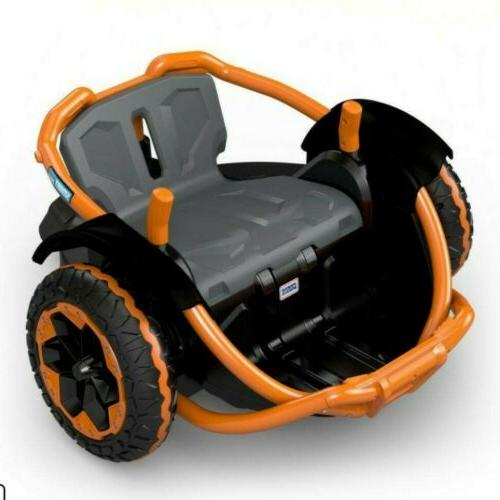 360 Spinning Vehicle, Orange