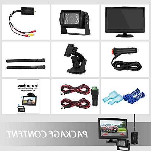 Digital Wireless Backup High-Speed Observation for Monitor Use Guide ON/Off