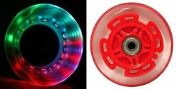 Light Up Led Visibility Scooter Wheel Replacements for Razor