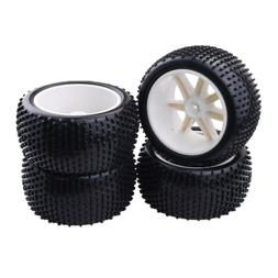 MagiDeal 4Pcs RC Vehicle Buggy Car Truck Wheel Tires Tyres f