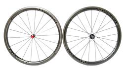 VISION METRON 40 LTD FULL CARBON ROAD BIKE WHEELS CLINCHER S
