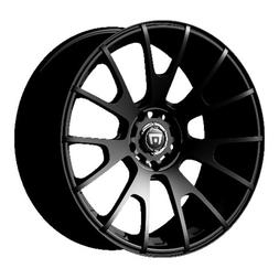 mr118 matte black finish wheel 17x8 5x4