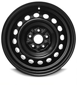 New 16 Inch Toyota Camry 5 Lug Black Replacement Steel Wheel