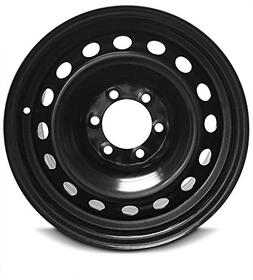 New 17 Inch Toyota 4Runner 6 Lug Black Replacement Steel Whe