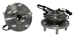 Detroit Axle - New  Front Wheel Hub and Bearing Assembly For