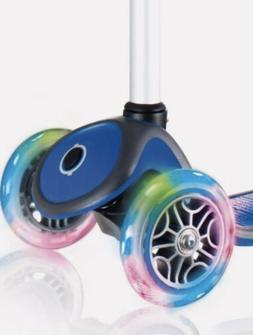 New Globber Multicolor Lightning Light Up Replacement Wheels