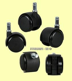 office chair wheel set universal fit