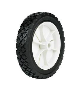 "Arnold Plastic Wheel Diamond Tread 7"" X 1.50"" 35 Lbs. Bulk"