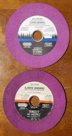 Oregon OR534-14A and OR534-18A Grinding Wheels 1/4 and 1/8 I