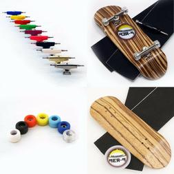 P-REP 32mm Zebra Wooden Fingerboard Complete - custom color