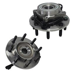 Detroit Axle - Pair  Front Wheel Hub and Bearing Assembly Se