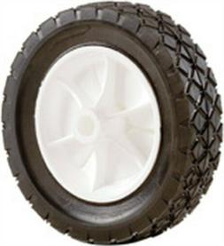 SHEPHERD Plastic Hub Semi Pneumatic Rubber Tires 7 X1-1/2