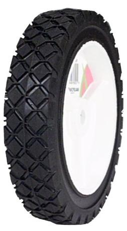 Plastic Lawn Mower Wheel - Size: 7 x 1.50
