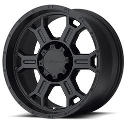 Vision Raptor 17 Matte Black Wheel / Rim 8x6.5 with a -10mm