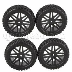 RC 1:10 Off-Road Vehicle Wheel Rim Tire Hexagonal Joints 12m