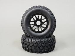 RC Short Course 1/10 OFF-ROAD WHEELS TIRES Package 3MM Offse