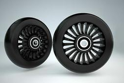 replacement wheels 96mm set of 2 fits