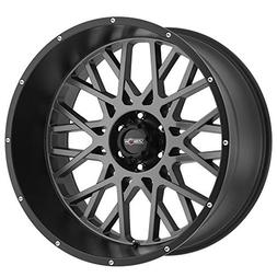 Vision Rocker 20x12 Gray Black Wheel / Rim 5x5.5 with a -51m