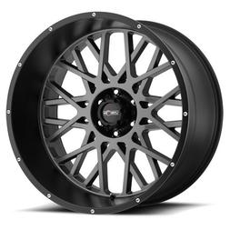 Vision Rocker 20x12 Gray Black Wheel / Rim 6x5.5 with a -51m