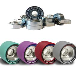 Monza Roller Skate Wheels With Speed Master ABEC 7 Bearings