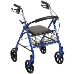 Rolling Walker For Seniors Medical Walkers With Wheels Seat