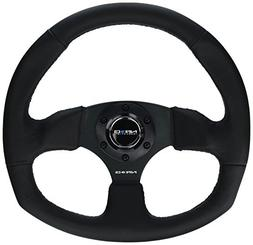NRG Innovations RST-009R Race Style Leather Steering Wheel w